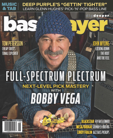 Bass Player - June 2016 - Bobby Vega - NewBay Media Online Store