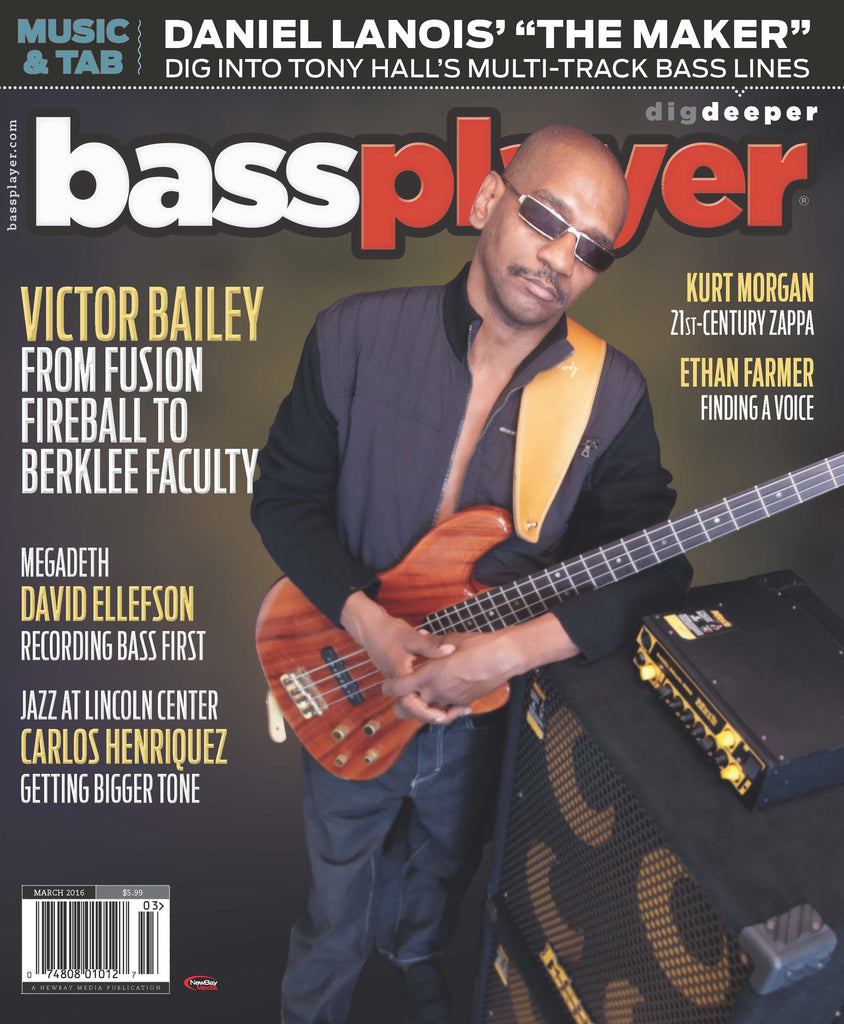 Bass Player - March 2016 - Victor Bailey - NewBay Media Online Store