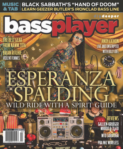 Bass Player - April 2016 - Esperanza Spalding - NewBay Media Online Store