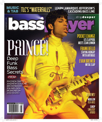 Bass Player - August 2016 - Prince - NewBay Media Online Store