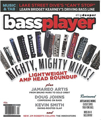 Bass Player - September 2016 - Lightweight Amp Head Roundup