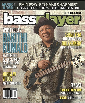 Bass Player - October 2016 - Bakithi Kumalo