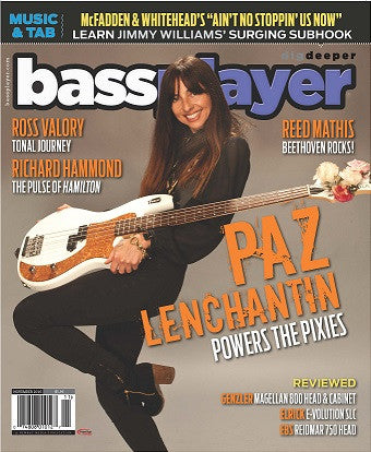 Bass Player - November 2016 - Paz Lenchantin - NewBay Media Online Store