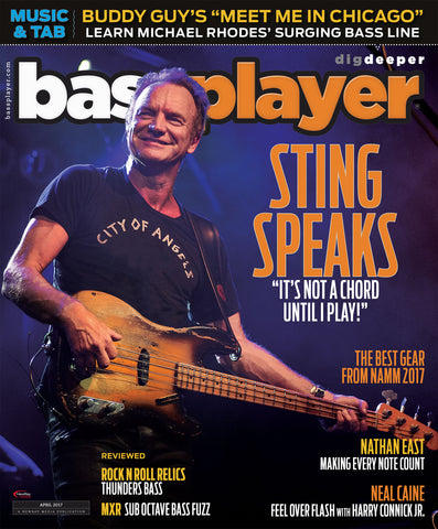 Bass Player - April 2017 - Sting