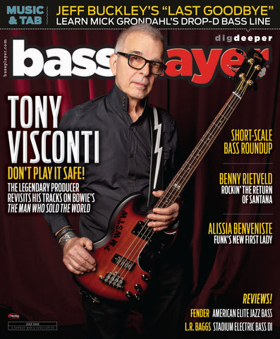 Bass Player - July 2016 - Tony Visconti - NewBay Media Online Store
