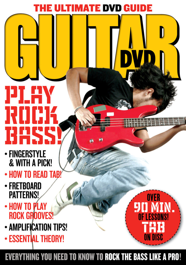 Play Rock Bass! DVD - NewBay Media Online Store