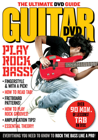 Play Rock Bass! DVD