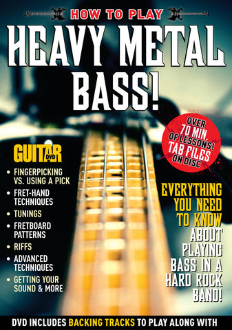 How to Play Heavy Metal Bass for Beginners DVD