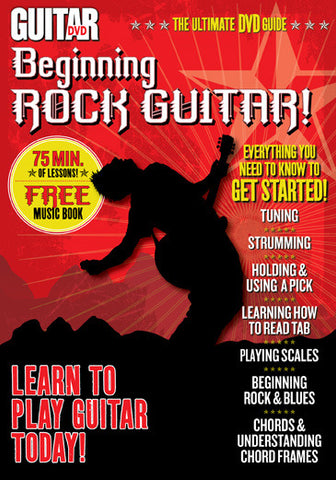 Beginning Rock Guitar DVD - NewBay Media Online Store