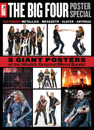 Guitar World Presents The Big Four Poster Special