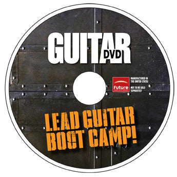 Lead Guitar Boot Camp DVD