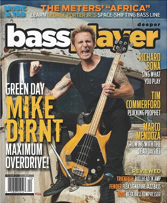 Bass Player - December 2016 - Mike Dirnt