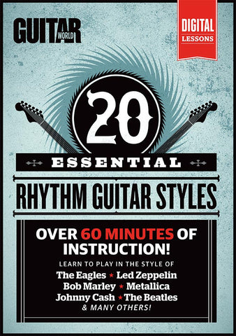 20 Essential Rhythm Guitar Styles: Full Version - NewBay Media Online Store