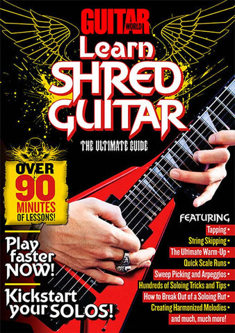 Learn Shred Guitar - TABS ONLY - NewBay Media Online Store