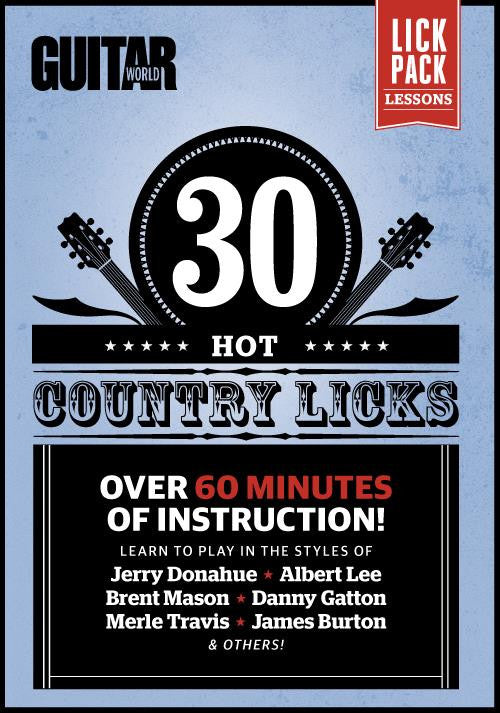 30 Hot Country Licks - Full Version