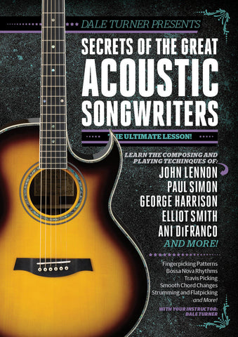 Secrets of the Great Acoustic Songwriters Full Version - NewBay Media Online Store