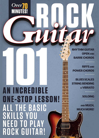 Rock Guitar 101 All the Basic Skills You Need to Play Rock Guitar!: Full Version - NewBay Media Online Store