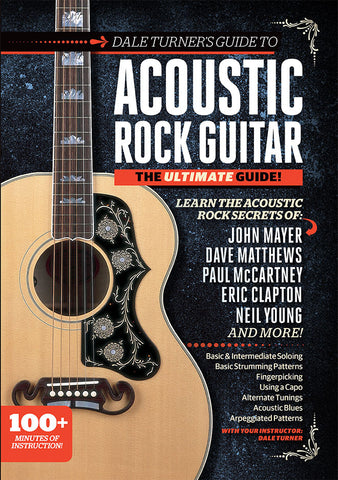 Dale Turner Guide to Acoustic Rock Guitar - TABS ONLY