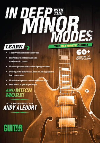 In Deep with the Minor Modes! The Ultimate Guide. - TABS ONLY - NewBay Media Online Store