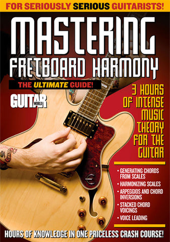 Mastering Fretboard Harmony Part 1 - TABS ONLY - NewBay Media Online Store