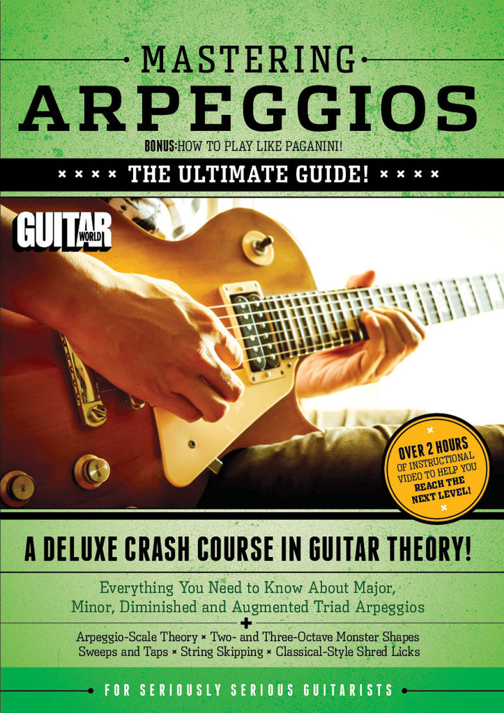 Mastering Arpeggios Part 1 - TABS ONLY - NewBay Media Online Store
