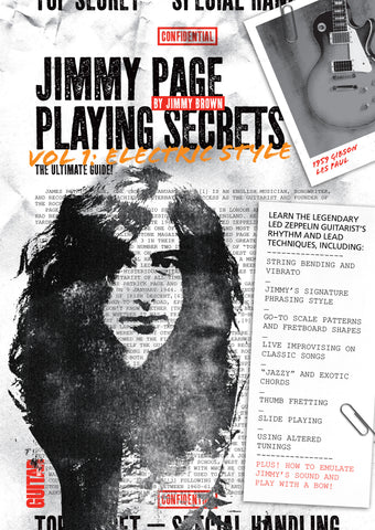 Jimmy Page Playing Secrets, Vol. 1 Electric Style: Full Version