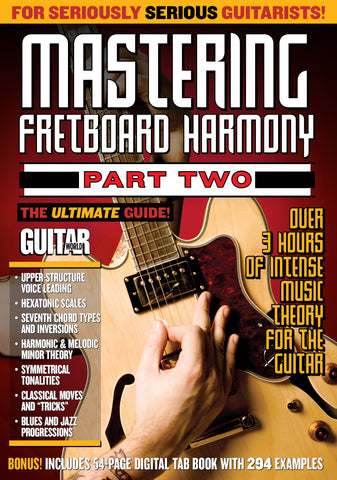 Mastering Fretboard Harmony Part 2 - TABS ONLY - NewBay Media Online Store