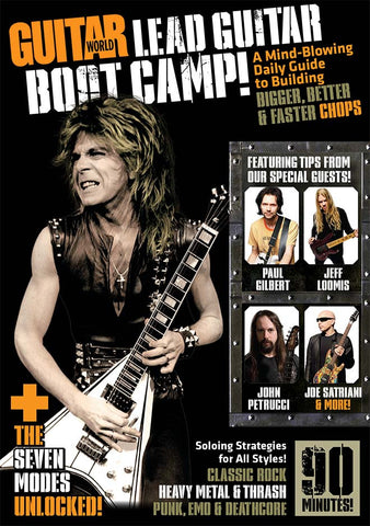 Lead Guitar Boot Camp! - NewBay Media Online Store