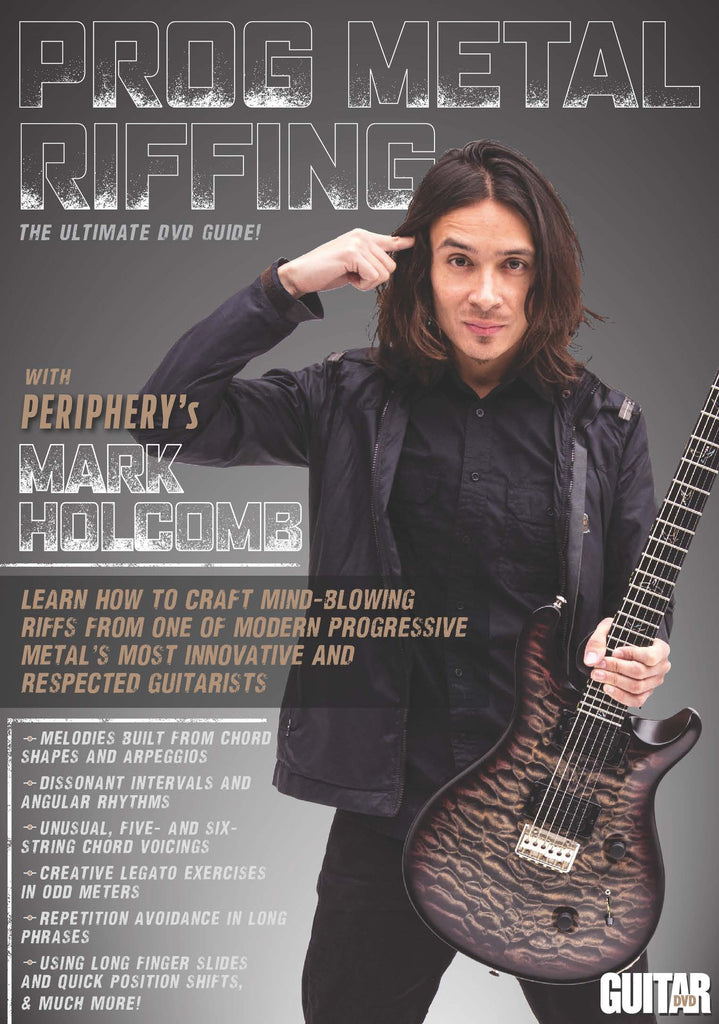 "Chapter 11: Stepping Tones – Crafting riffs from arpeggios, and the intro and verses to ""Priestess"" - NewBay Media Online Store"