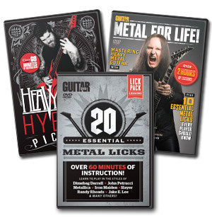 Heavy Metal DVD Triple Pack - NewBay Media Online Store