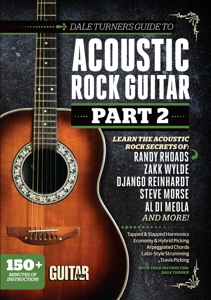 Dale Turner\'s Guide to Acoustic Rock Guitar Part 2 - DVD – Future US ...