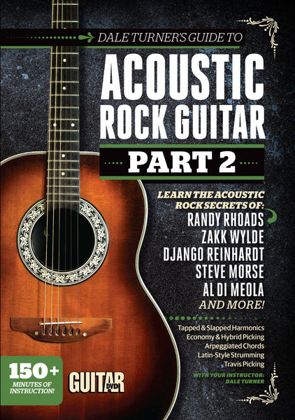 Dale Turner's Guide to Acoustic Rock Guitar Part 2 - DVD - NewBay Media Online Store