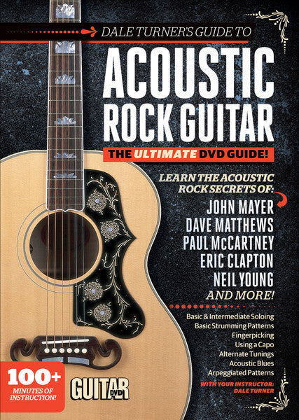 Dale Turner's Guide to Acoustic Rock Guitar - DVD - NewBay Media Online Store