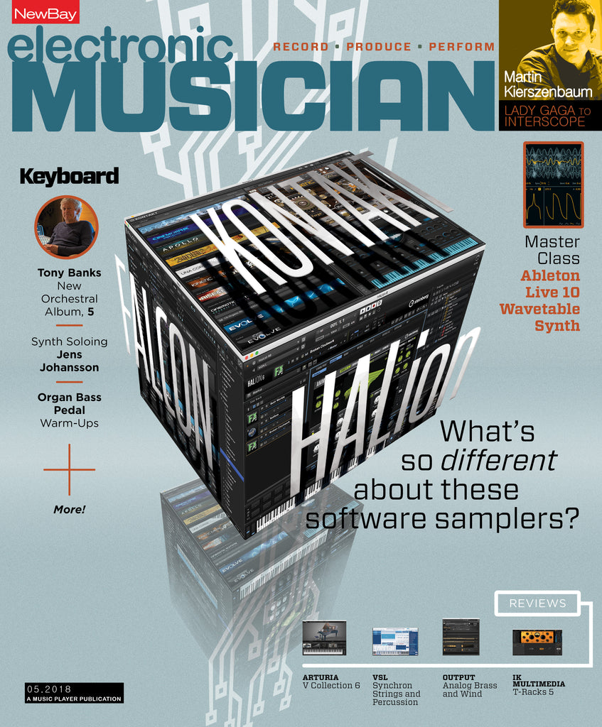 electronic MUSICIAN - May 2018 - What's so different about these software samplers?