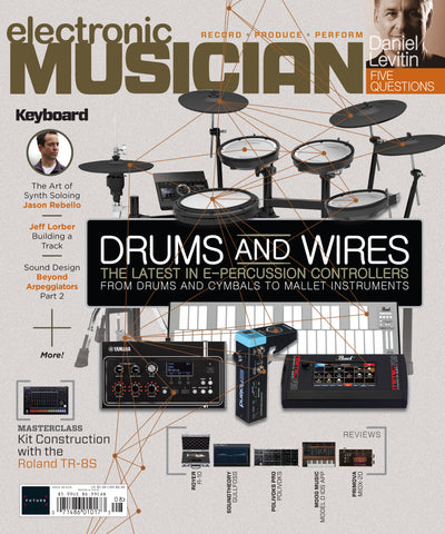 electronic MUSICIAN - August 2018 - THE LATEST IN E-PERCUSSION CONTROLLERS FROM DRUMS AND CYMBALS TO MALLET INSTRUMENTS