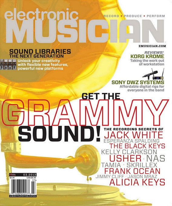 electronic MUSICIAN - Mar - 2013 -  Grammy Sound - NewBay Media Online Store