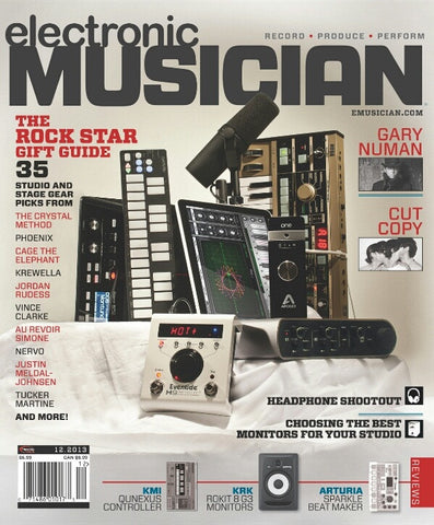 electronic MUSICIAN - December - 2013 - Holiday Gift Guide - NewBay Media Online Store