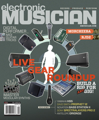 electronic MUSICIAN - January 2014 - Live Gear Roundup - NewBay Media Online Store