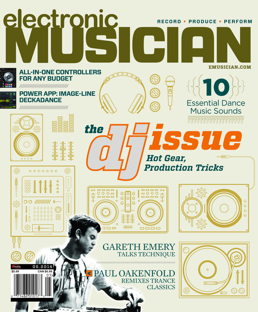 electronic MUSICIAN - May 2014 -The DJ Issue - NewBay Media Online Store