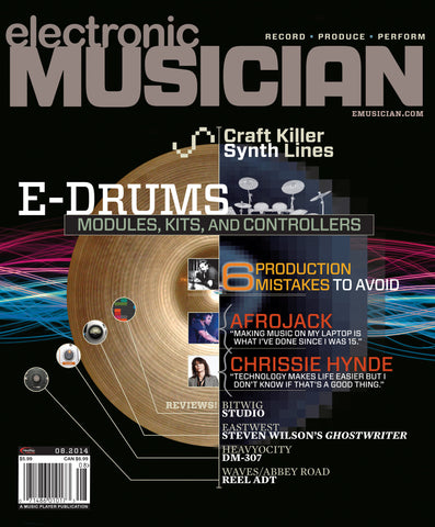 electronic MUSICIAN - August 2014 - E-Drums - NewBay Media Online Store