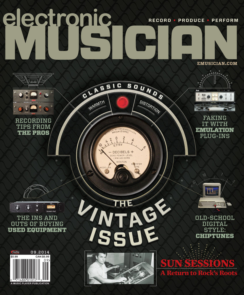 electronic MUSICIAN - September 2014 - The Vintage Issue - NewBay Media Online Store