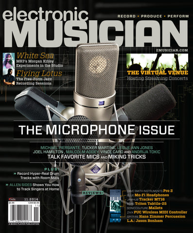 electronic MUSICIAN - November 2014 - The Microphone Issue - NewBay Media Online Store