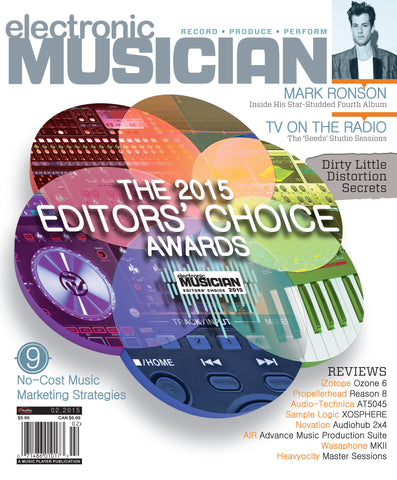 electronic MUSICIAN - February 2015 - Editors' Choice Awards - NewBay Media Online Store
