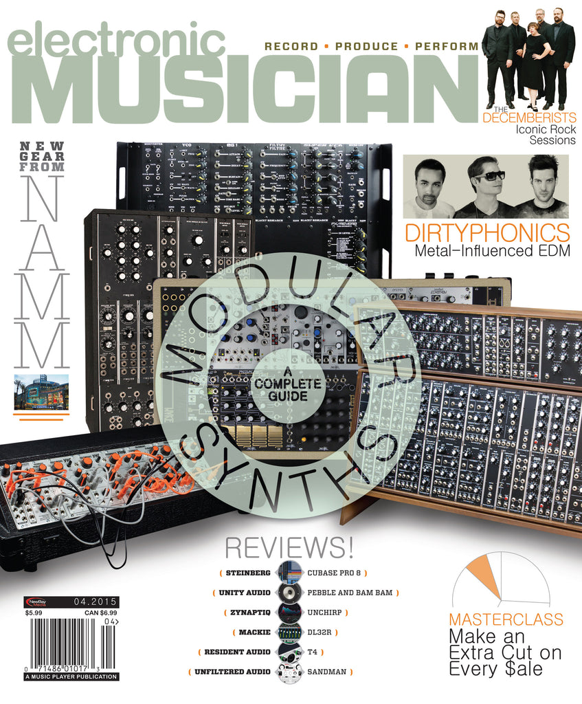 electronic MUSICIAN - April 2015 - Modular Synths - NewBay Media Online Store
