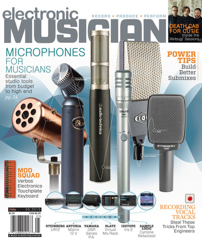 electronic MUSICIAN - May 2015 - Microphones - NewBay Media Online Store