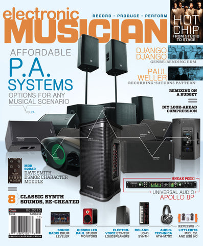 electronic MUSICIAN - June 2015 - PA Systems - NewBay Media Online Store