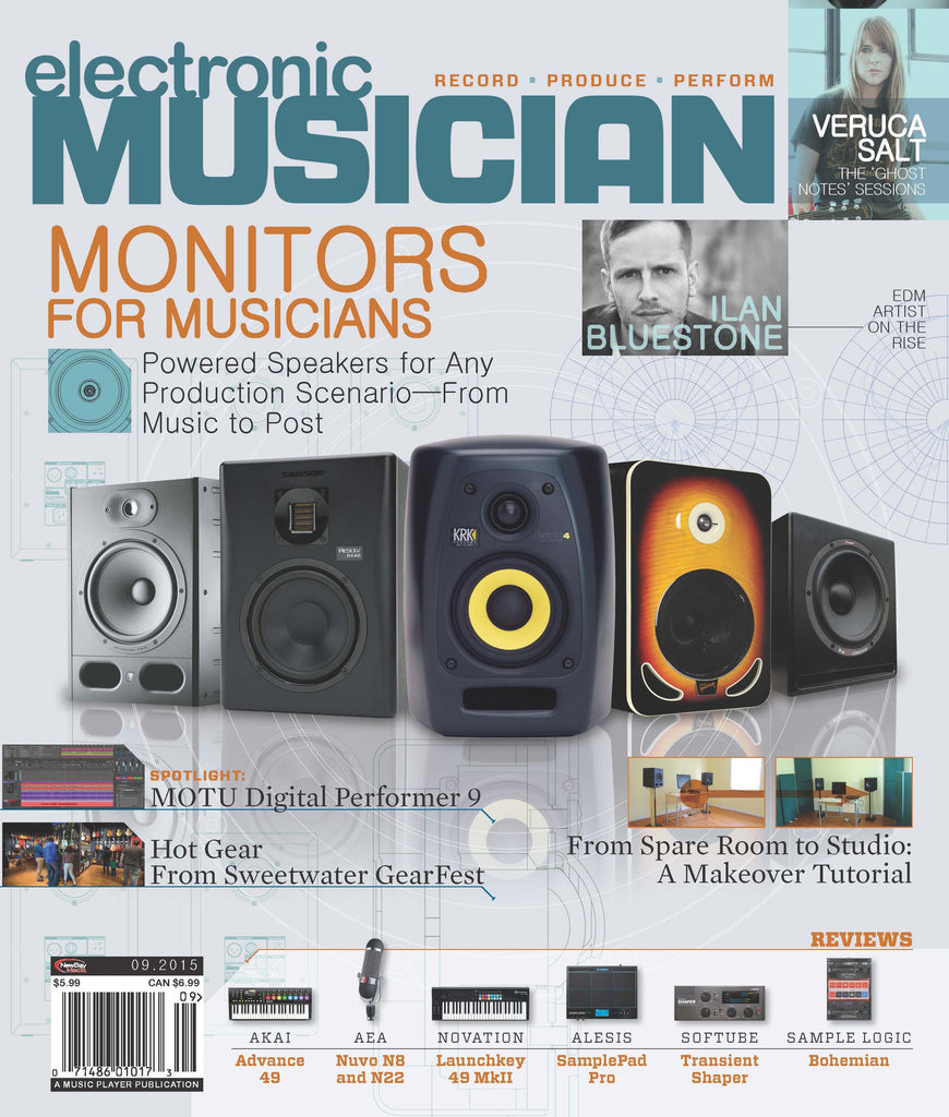 electronic MUSICIAN - September 2015 - Monitors For Musicians - NewBay Media Online Store