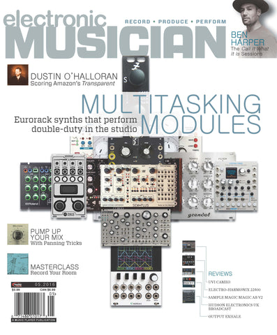 electronic MUSICIAN - May 2016 - Multitasking Modules - NewBay Media Online Store
