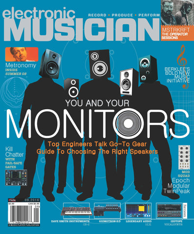 electronic MUSICIAN - September 2016 - Choosing Monitors