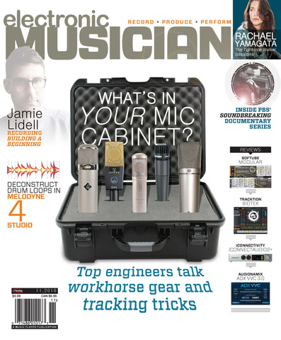 electronic MUSICIAN - November 2016 - Your Mic Cabinet